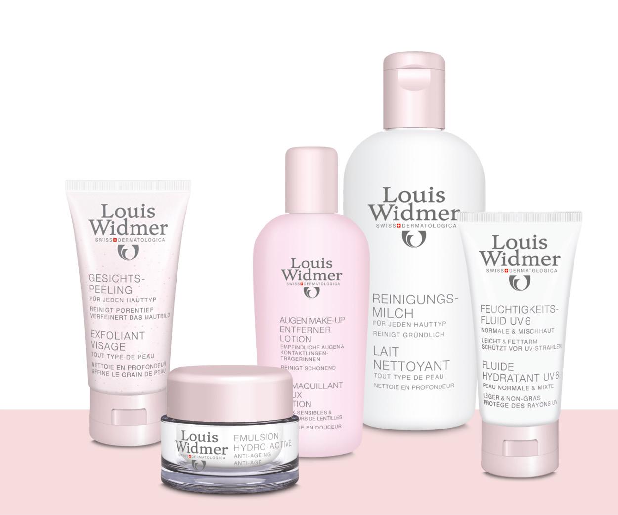 Produktpalette Louis Widmer
