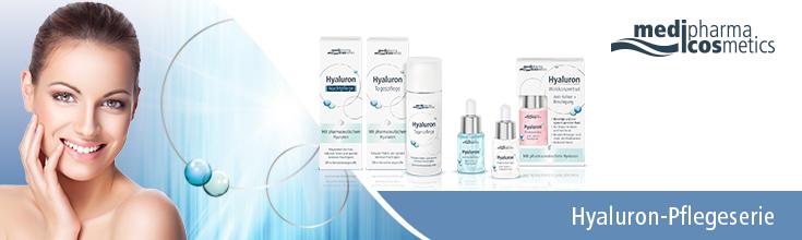Medipharma Cosmetics - Hyaluron-Pflegeserie