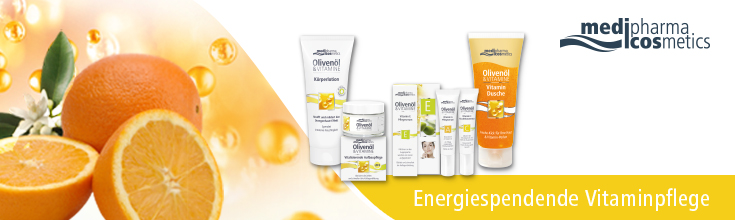 Medipharma Cosmetics - Engergiespendende Vitaminpflege