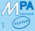 MPA Darmstadt tested
