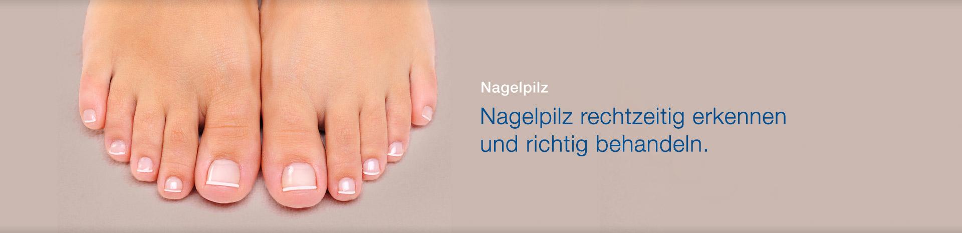 Behandeln schnell nagelpilz Nagelpilz erkennen