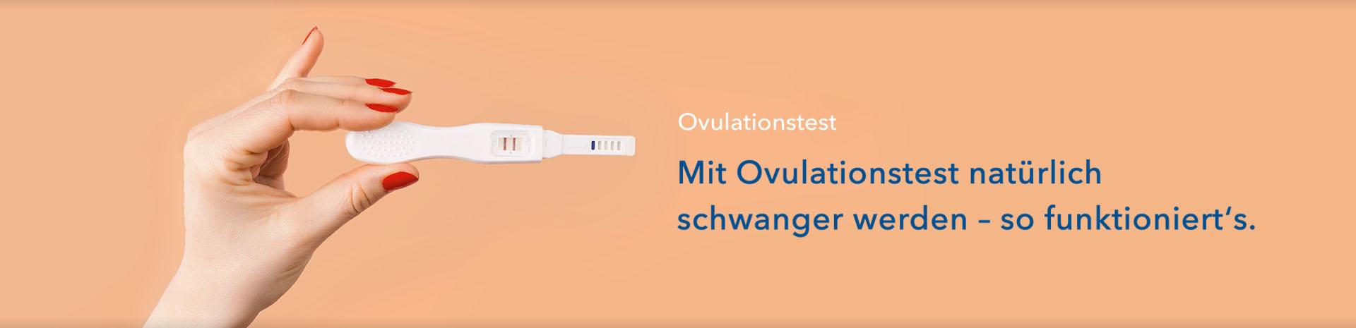 Lange mit wie bis ovulationstest schwanger So funktionieren