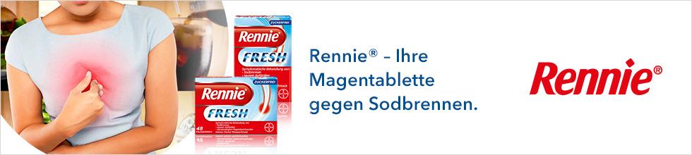 Sodbrennen - Rennie® bei shop-apotheke.com