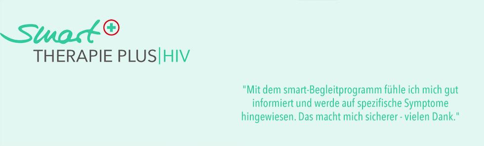 smart THERAPIE PLUS HIV - Headergrafik