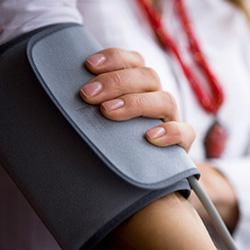 Blutdruck wird messen