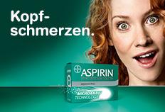 Aspirin® - die schnelle Hilfe gegen Kopfschmerzen