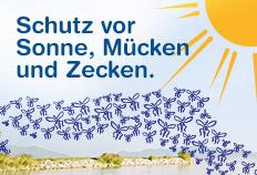 2in1 Schutz vor Mücken und Sonne: ANTI BRUMM SUN