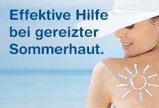 Soventol® - Effektive Hilfe bei gereizter Sommerhaut