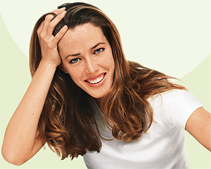 Die Behandlung des weiblichen Haarausfalles