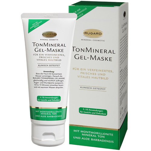 RUGARD Vitamin Set + 100 ml TonMineral Gel-Maske GRATIS